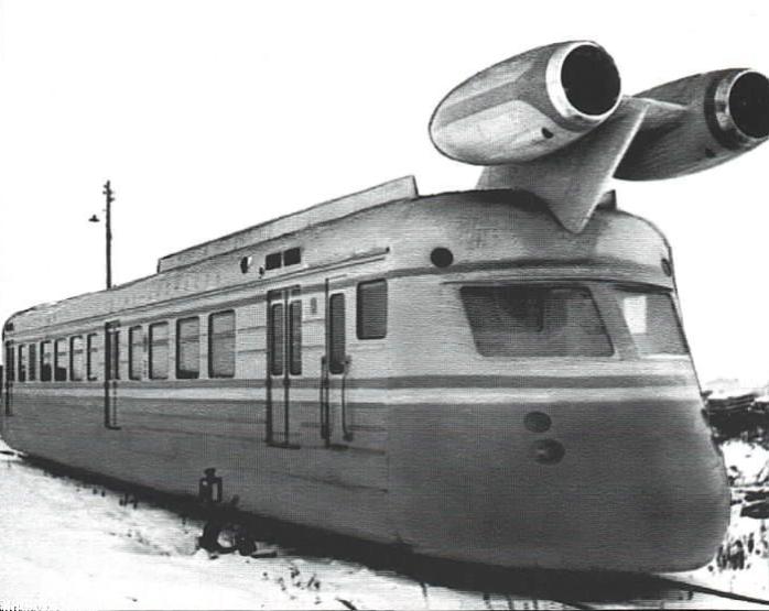 Максимальная скорость экспериментального поезда достигала 249 км/ч / Фото: knowhow.pp.ua