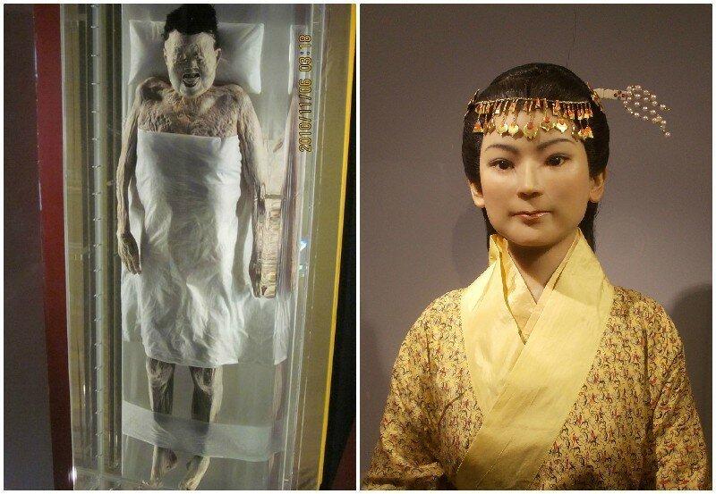 4. 2000-летняя мумия женщины, у которой сохранились волосы, ресницы, и кровь в венах в мире, загадки, интересно, исторические события, история, странные вещи, тайны, факты