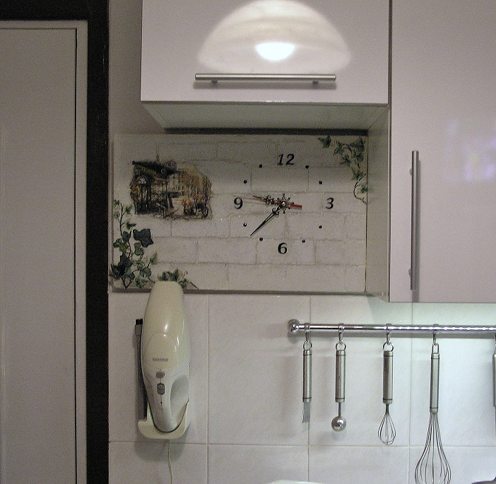 Часы на кухню