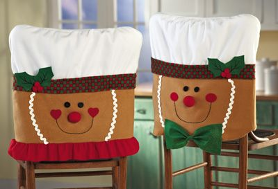 Gingerbread Chair Covers