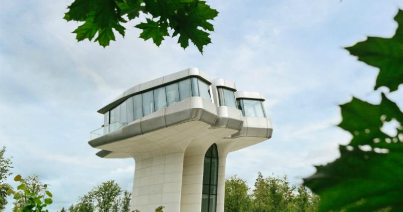 Дом под Москвой по проекту легендарной Захи Хадид