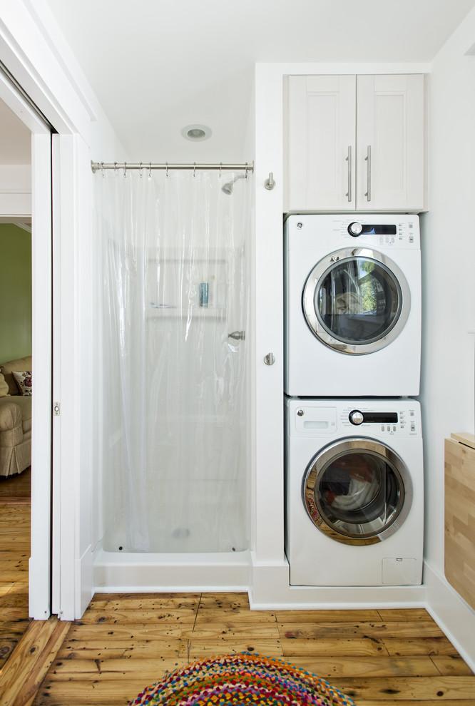 Как разместить стиральную машину в ванной: 5 идей