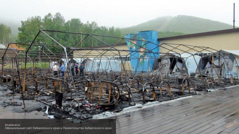 Спасавший других ребят из горящей палатки в хабаровском лагере мальчик впал в кому