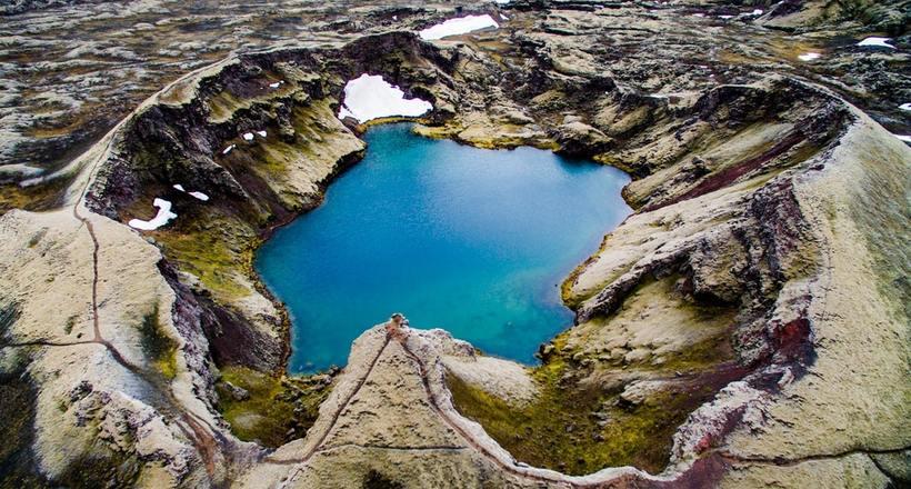 Божественной красоты пейзажи Исландии в исполнении Якуба Поломски