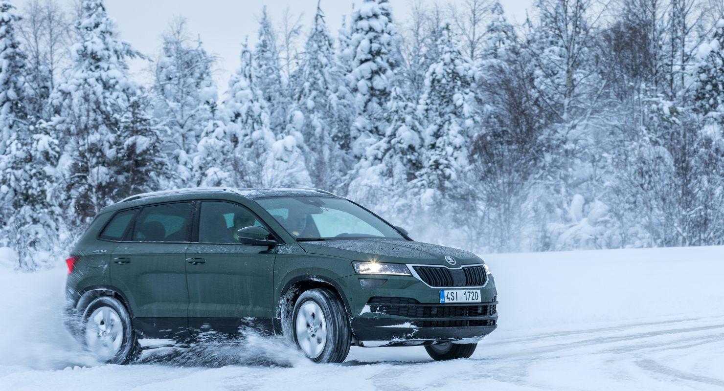 Первые проблемы Skoda Karoq зимой Автомобили