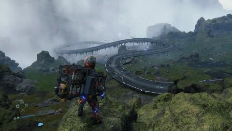 Русский геймер построил в Death Stranding огромное шоссе и стал героем интернета death stranding,игроки,Игры