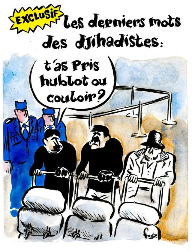 Charlie Hebdo опубликовал ка…