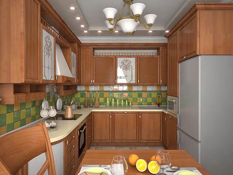 Идея кухни от дизайн-студии Art-i-Chock