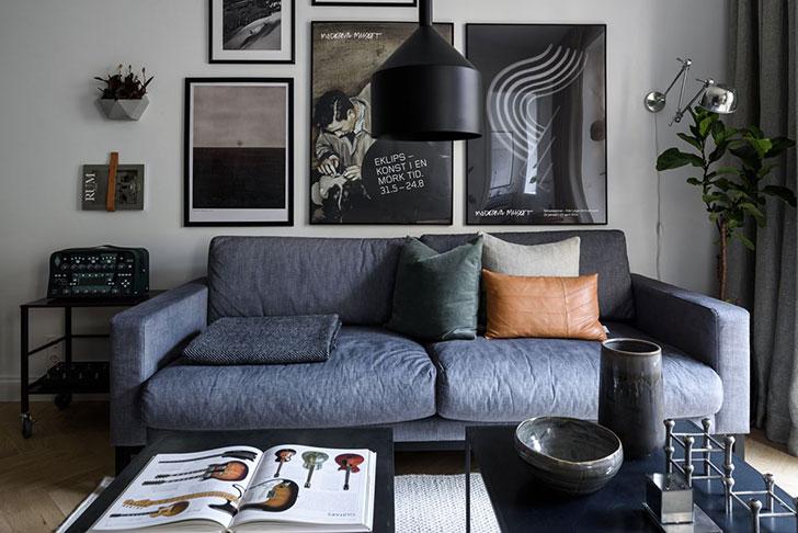Квартира для творческого человека | Роскошь и уют Фото