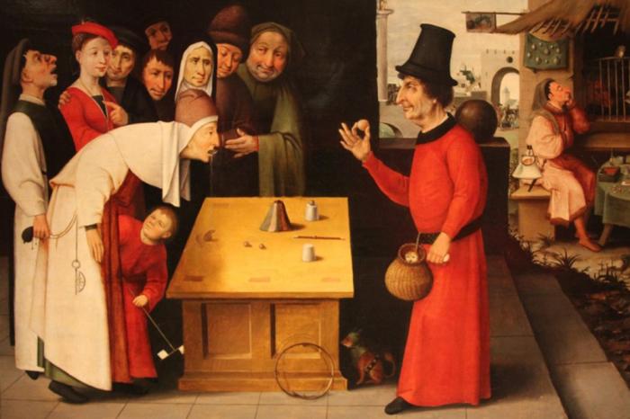 Иллюзионисты и фокусники прошлого
