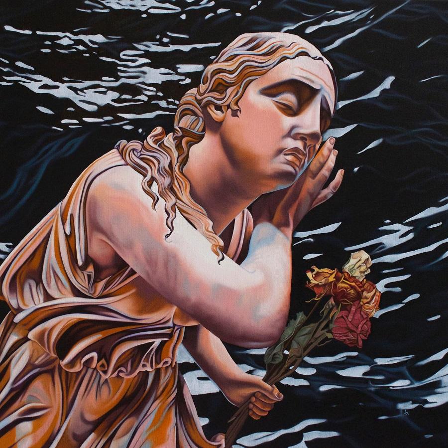 Прекрасные женщины эллинизма на современных картинах живопись