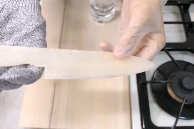 Как изготовить нож из риса в домашних условиях