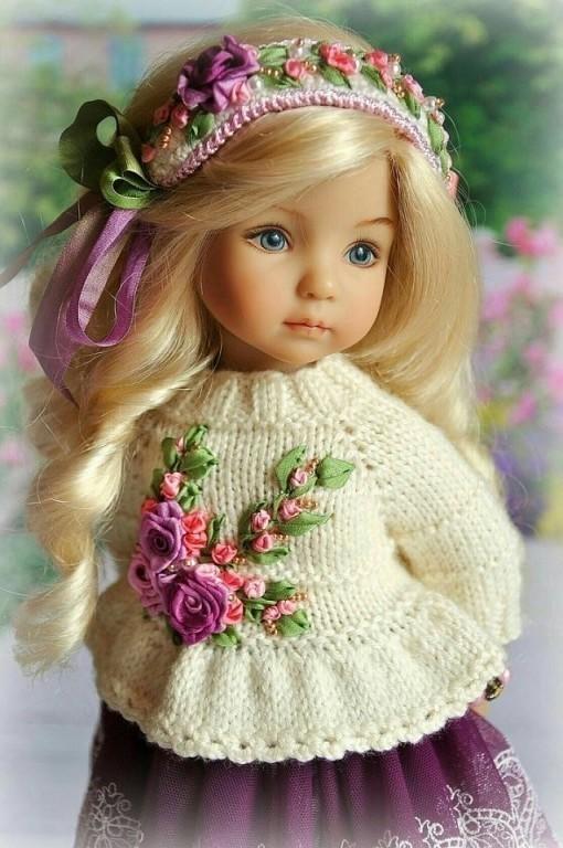 Очаровательные куклы Дианы Эфнер. Браво золотым рукам мастера!
