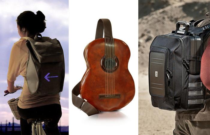 15 самых оригинальных и функциональных рюкзаков на все случаи жизни