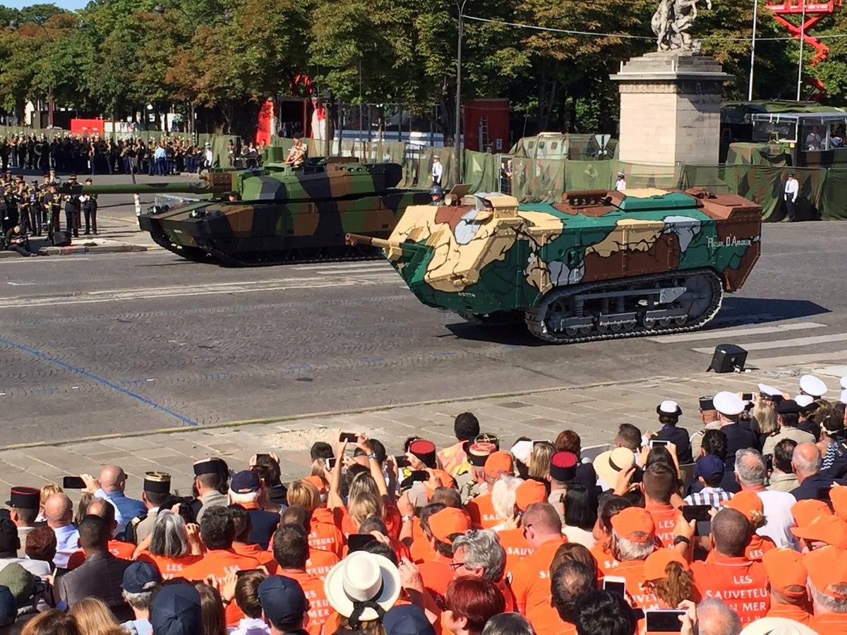 Столетие на параде
