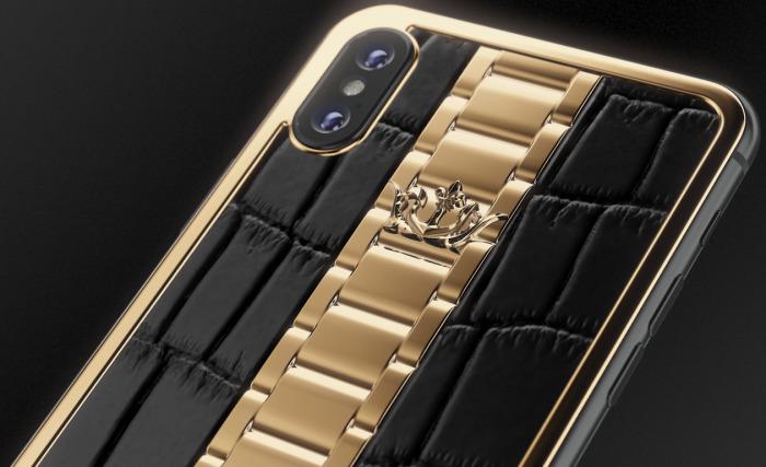 Российская компания добавила к iPhone швейцарские часы