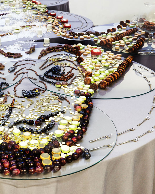 Необычные картины из еды