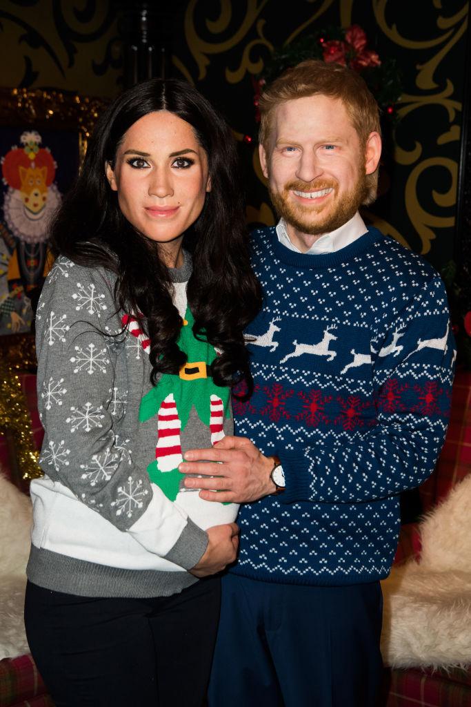 Поклонников королевской семьи разочаровали восковые фигуры Меган и Гарри
