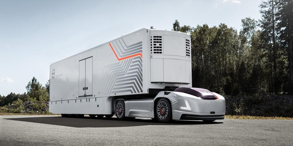Беспилотный грузовик без кабины