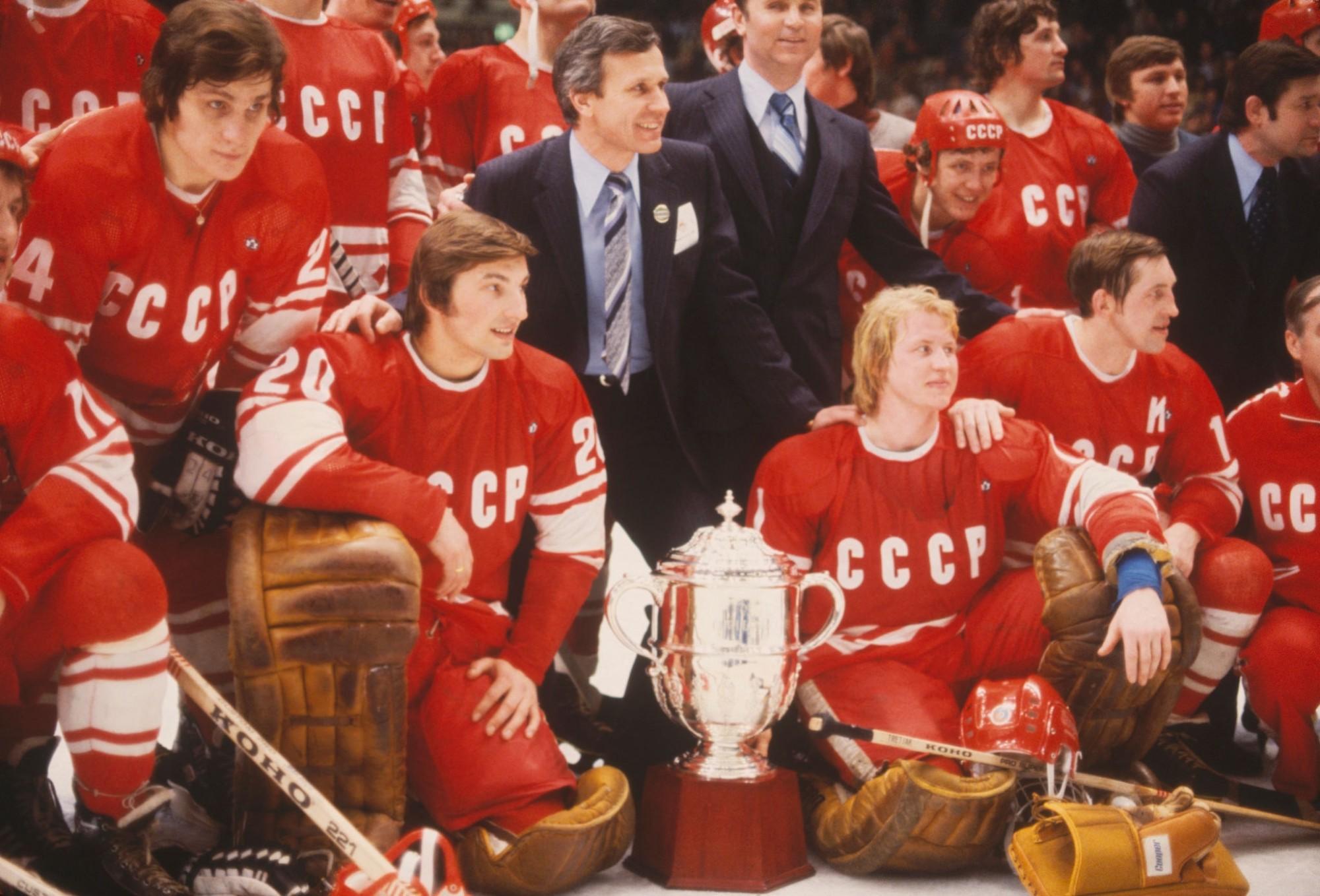 1979 финал между сборными хоккея СССР и Канады закончился co счетом 6-0