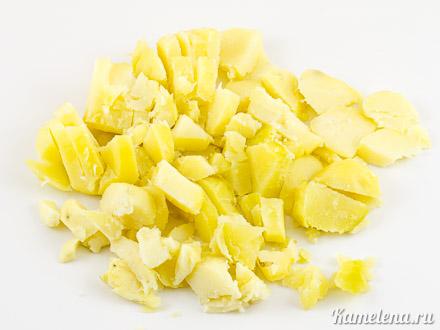 Суп-пюре из запеченного картофеля — 1 шаг
