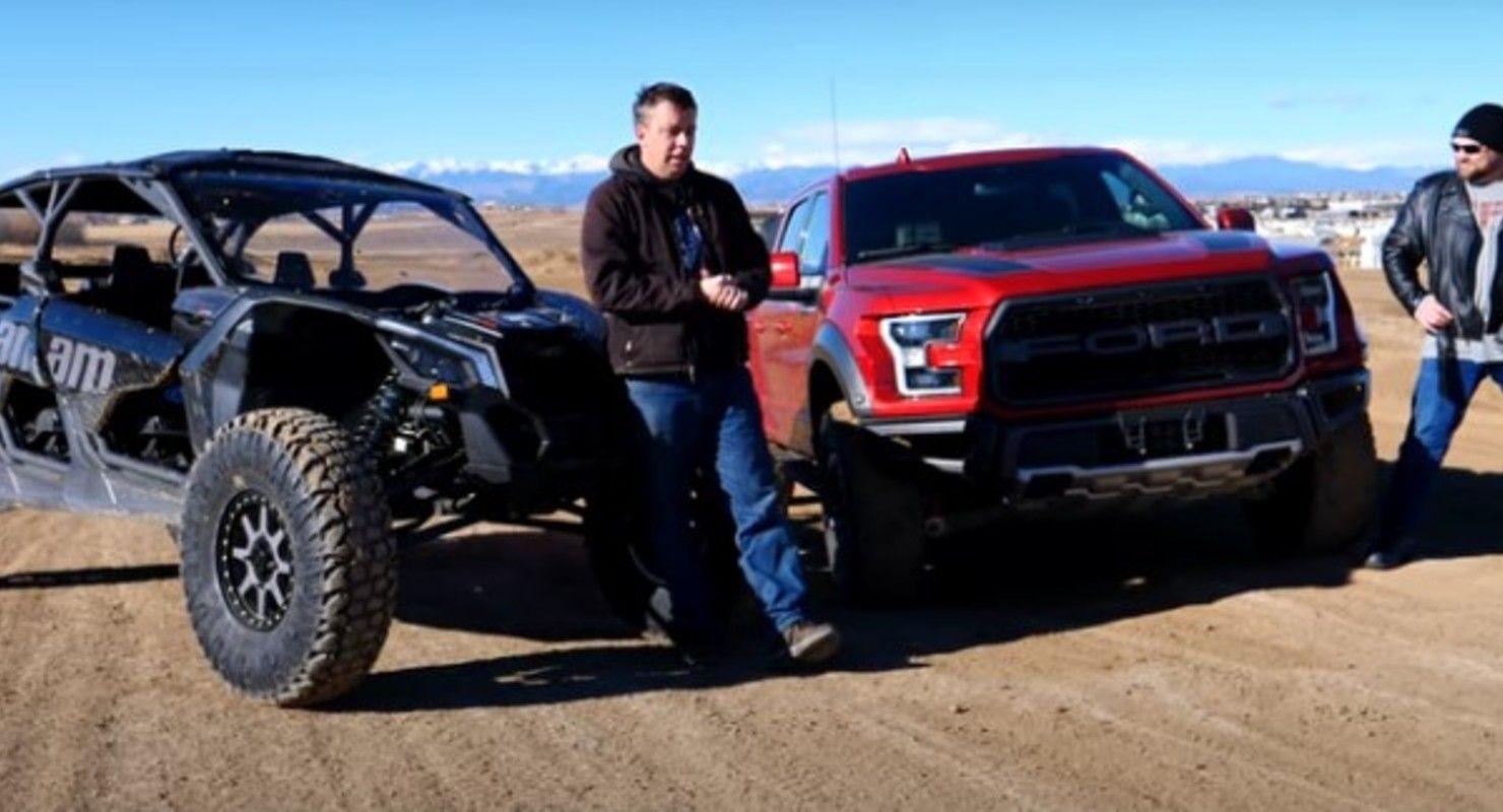 Может ли Ford Raptor победить Can-Am Maverick X3 в гонке по бездорожью? Автомобили