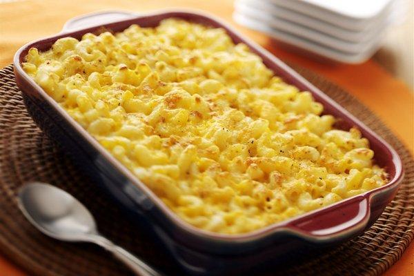 Омлет с макаронами под сыром