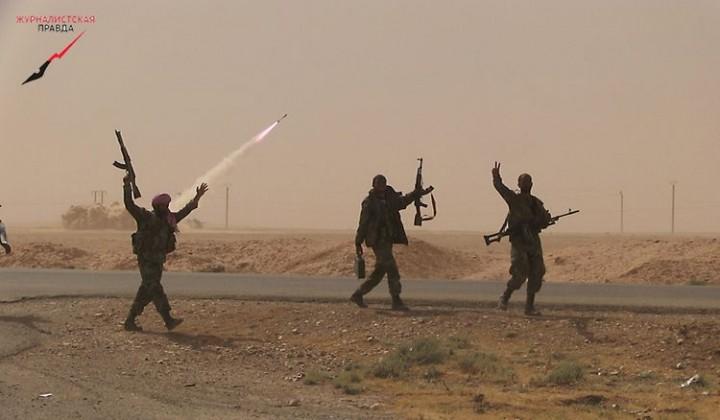 Бросок на Ракку. Сирийская армия продолжает наступление на «столицу» ИГИЛ.
