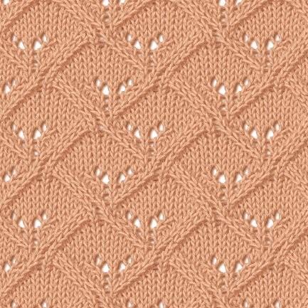 Схемы к симпатичным узорам спицами