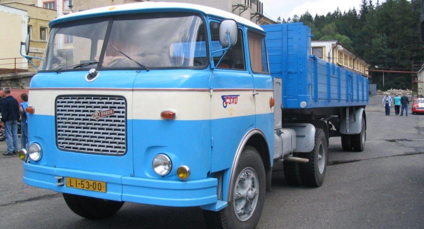 Советские дальнобойщики мечтали сесть за руль Škoda 706RT Исследования