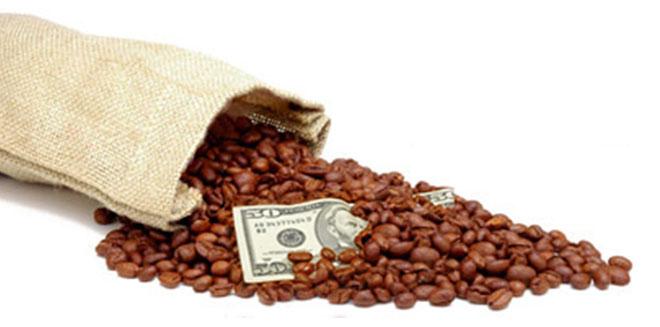 Кофе и деньги фото