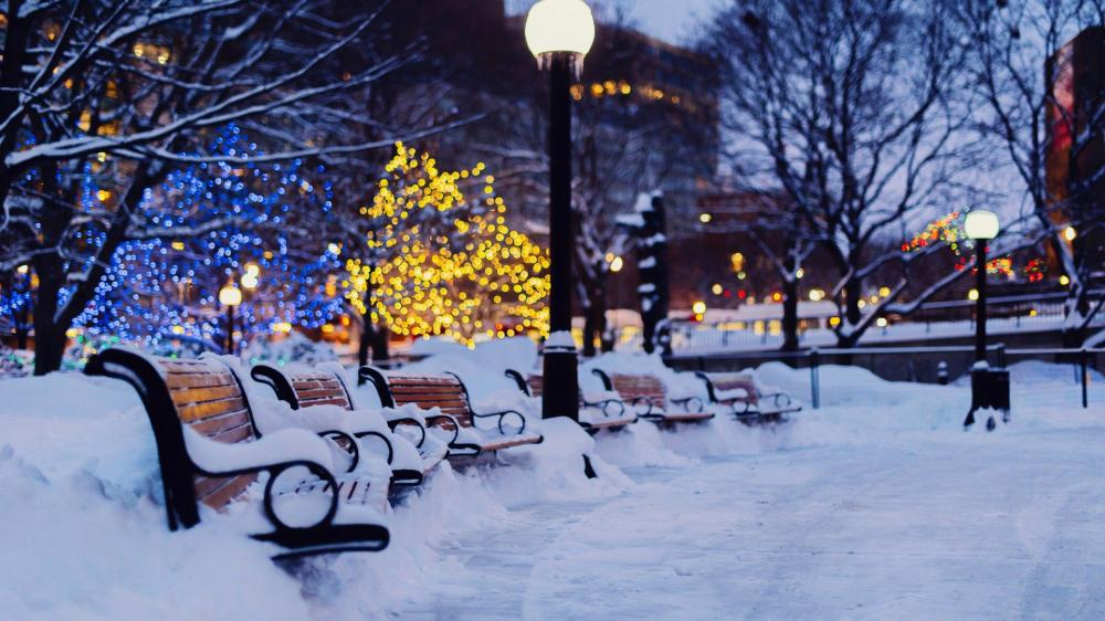Немного о снеге, зиме и новогоднем настроении