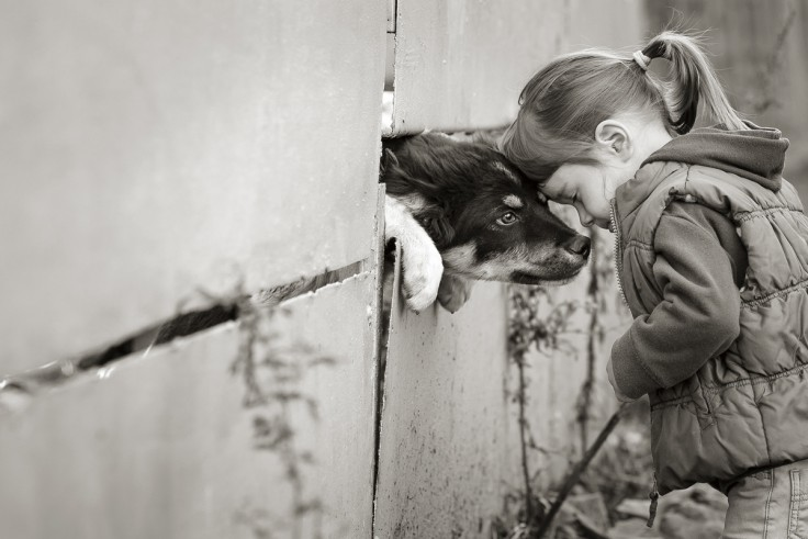 Черно-белые детские фотографии: когда главное – эмоции