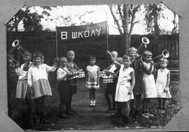 В школу! 1936 история, люди, мир, фото