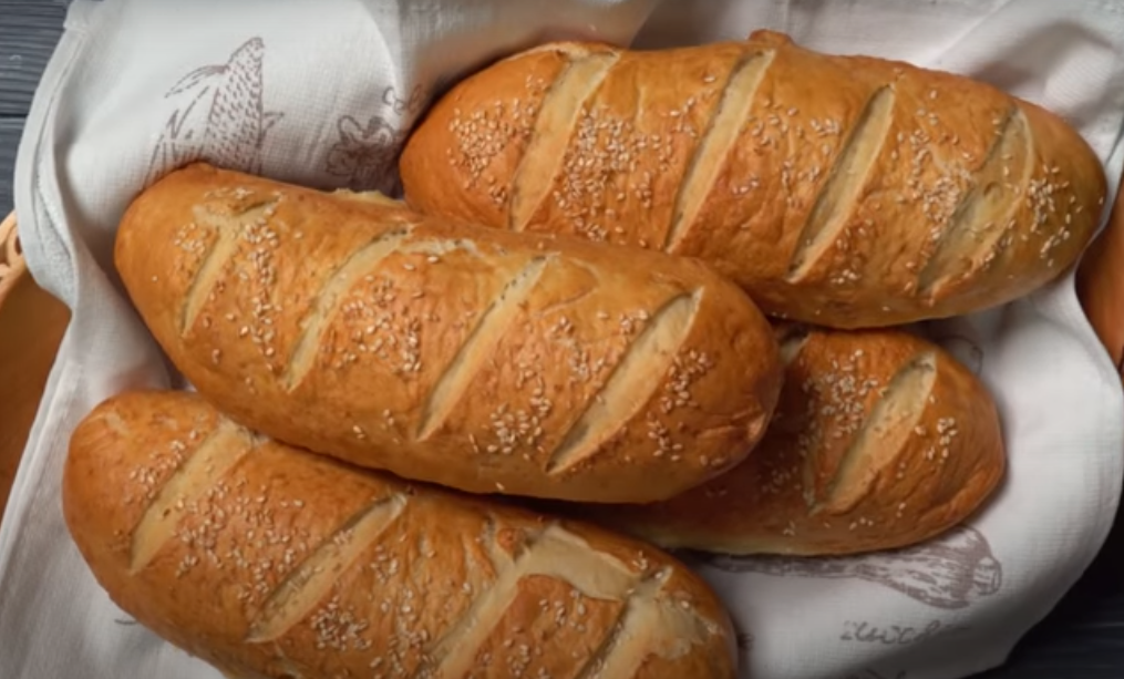 Хрустящий вареный хлеб