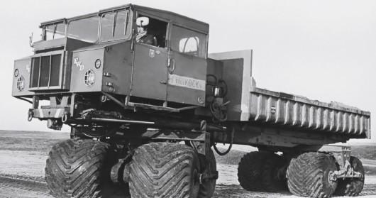 Десять самых странных и удивительных внедорожных транспортных средств