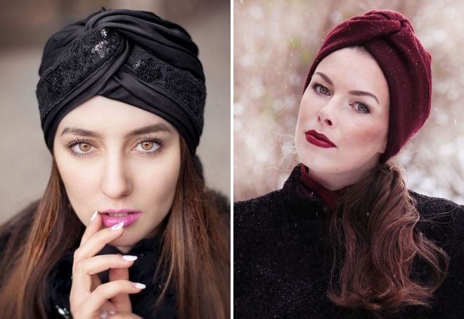 Тюрбан - зачем носят и как завязать, чтобы выглядеть модно