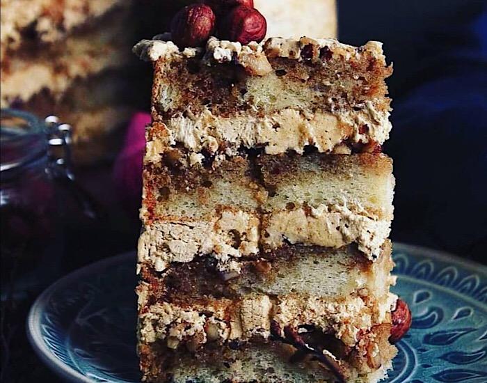 Божественно вкусный торт «Кофейный мокко»