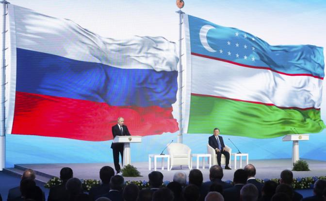Чтобы отбить Узбекистан у Запада, Россия заплатит $миллиарды
