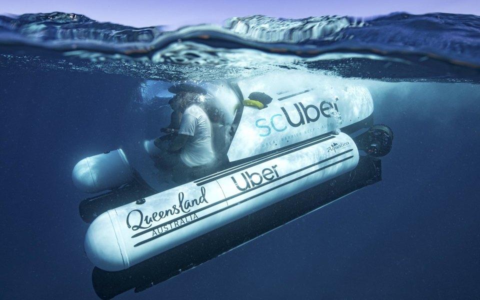 Uber запустили подводное такси в Австралии