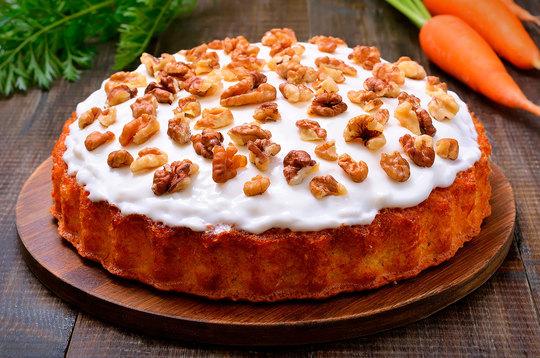 Морковный торт: мастер-класс
