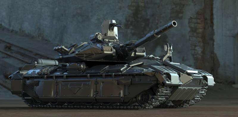 Каким может быть танк нового поколения оружие