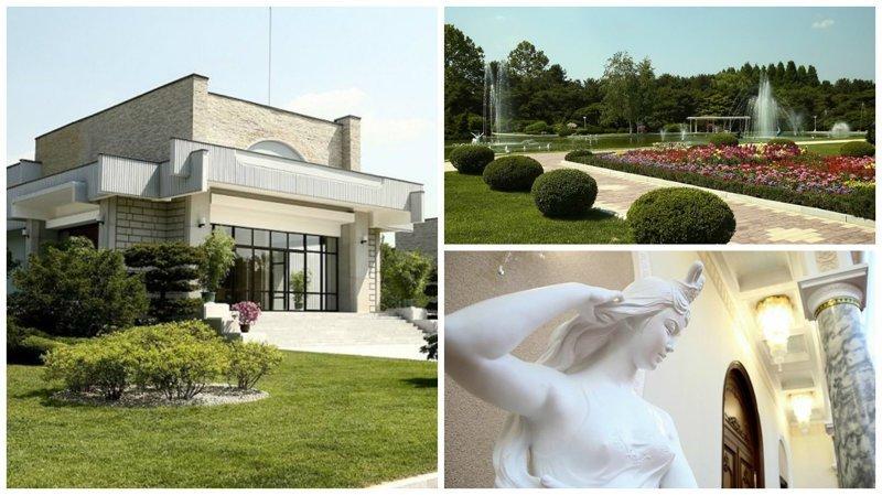 Если вам интересно посмотреть на резиденцию Ким Чен Ына, то вам сюда
