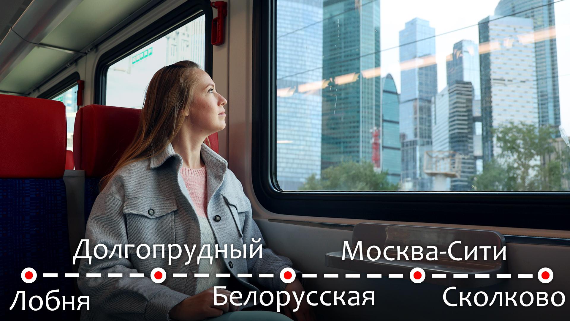 На электричке Иволга сквозь Москву - путешествие не выезжая из дома