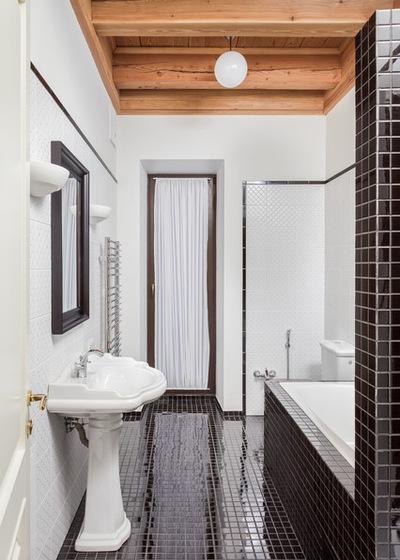 Классический Ванная комната by Архитектурная мастерская Акант