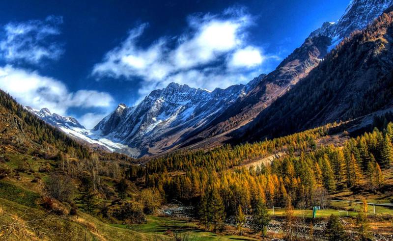 Лошанталь, Швейцария долина, природа, факты