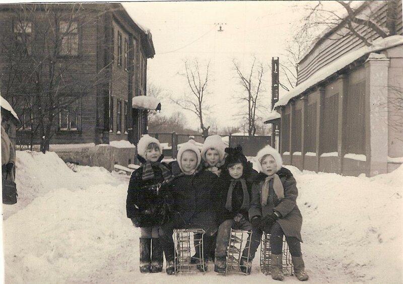 Девчонки с нашего двора. Фото 1969 г. из архива А. Ку история, ретро, фото