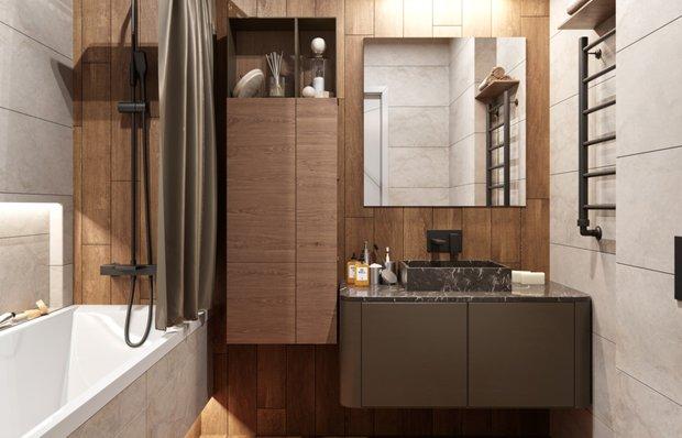 Визуально расширяем пространство ванной