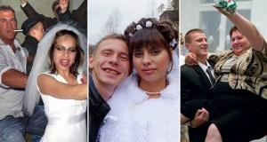 25 фотографий деревенских свадеб, которые отобьют желание идти под венец!