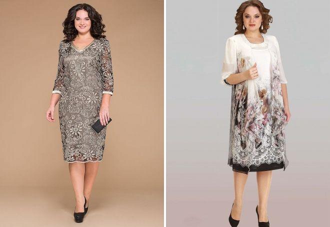 прямые платья для женщин 40 лет